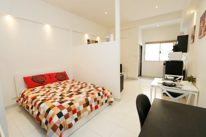 Studio room for rent at PP Condo Chiang Mai (1)